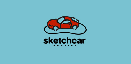 sketch car logo