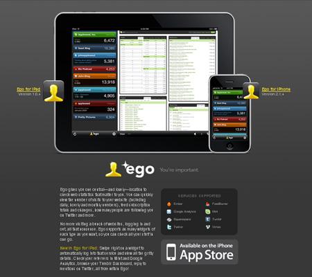 ego for iPad