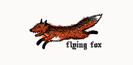 flying fox logo barber