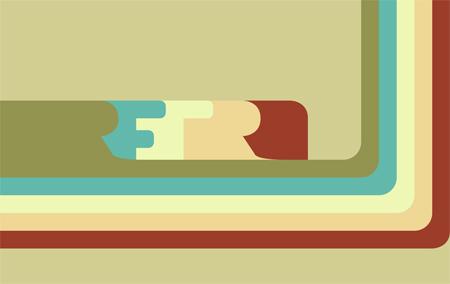 Retro Vector V2 Wallpaper