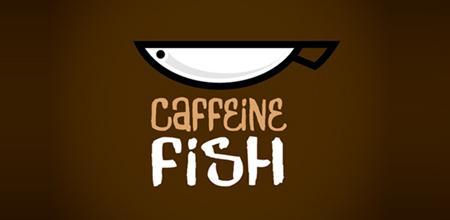 caffeine fish logo