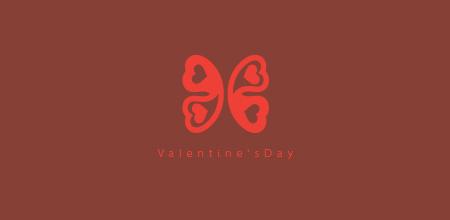 day 45 valentine's day logo