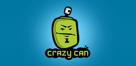 crazy can logo
