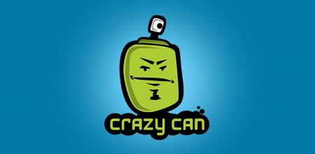 crazy can logo