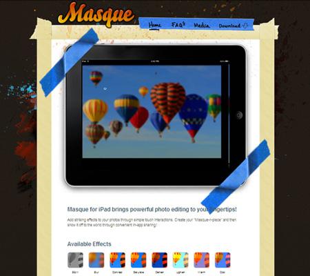 masque iPad