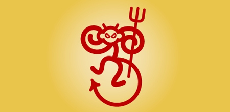devil monkey logo