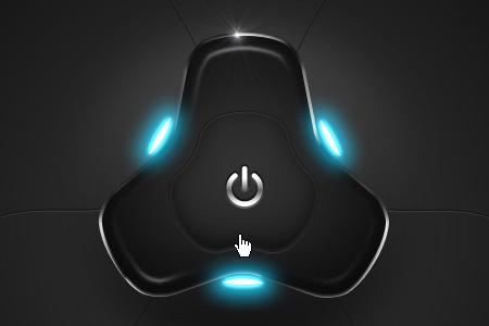 hi –tech powered button