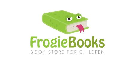 frogie books logo