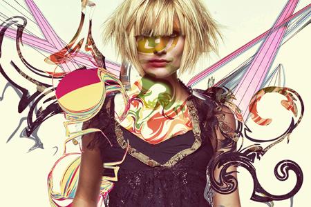 high impact fashion poster