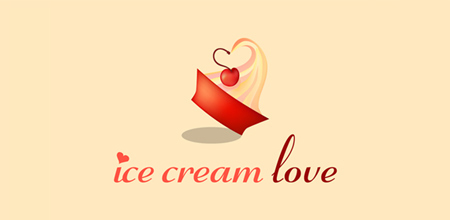 ice cream lovers logo