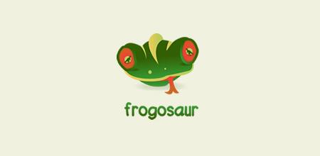 frogosaur logo
