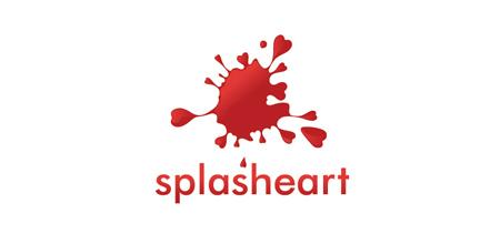 splasheart logo
