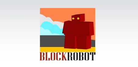 block robot logo