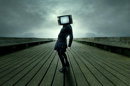 tv head scene