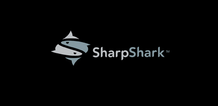 sharp shark logo