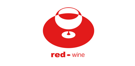 red wine logo