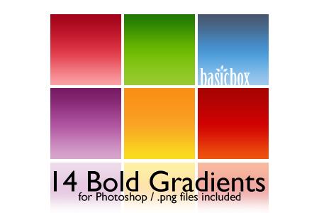 BB Set 1 Bold Gradients