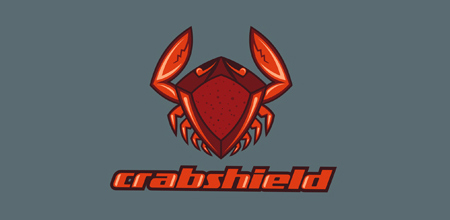 crab shield logo