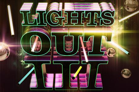 nightclub themed 3d topography