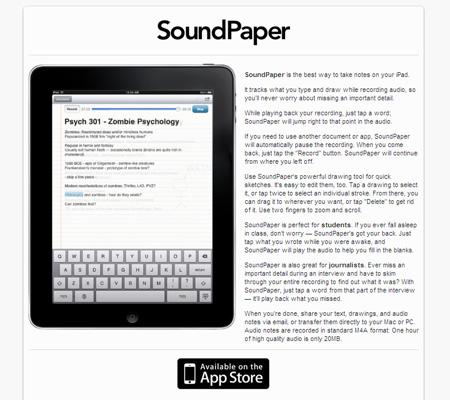sound paper