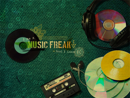 Music Freak Wallpaper