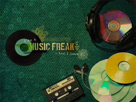Music Freak Wallpaper