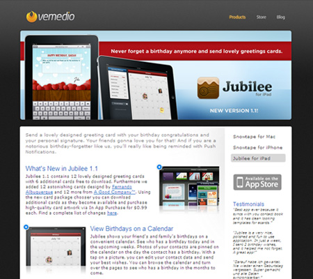 jubilee for iPad