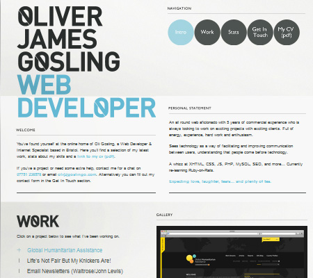 Oliver Gosling-Web Developer