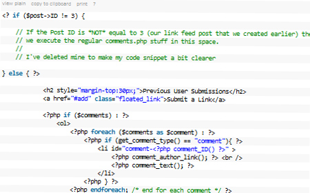 Hack Together a User Contributed Link Feed with WordPress Comments