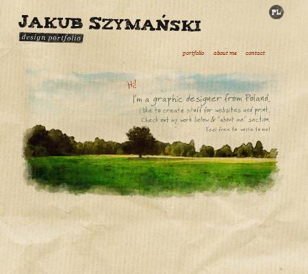 Jakub Szymanski- design portfolio