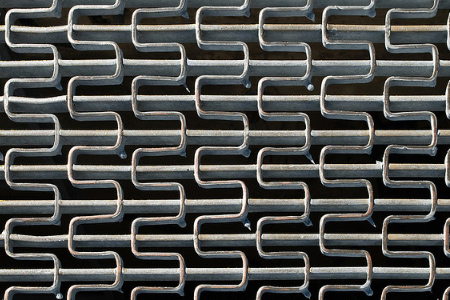 Metal grate texture background pattern