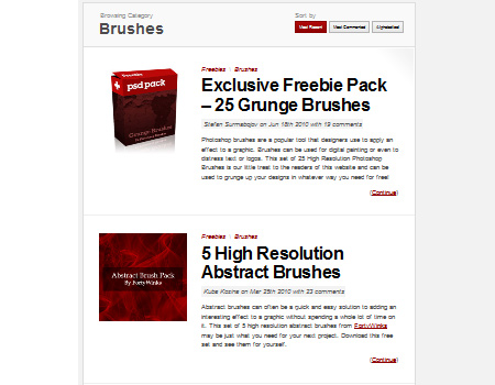 Brushes Psdtuts+