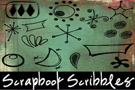 Scrapbook Scribbles-Retro