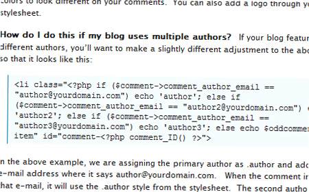 Separating Your Author Comments in WordPress