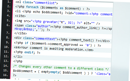 Styling WordPress Comments
