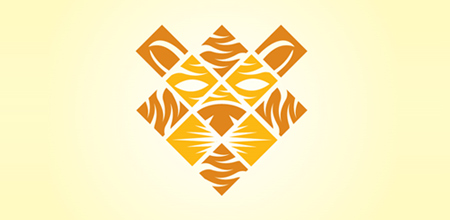 square stripes yellow logo
