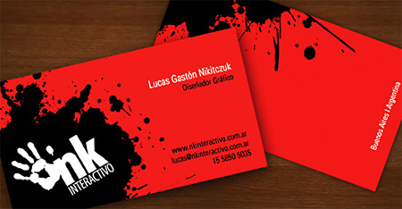 nk business card
