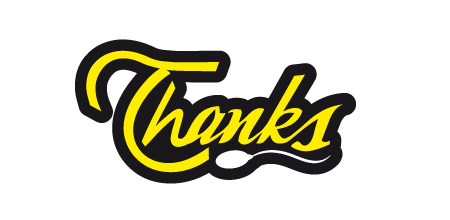 thanks yellow logo