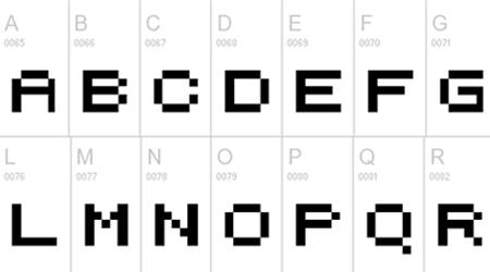 pixelicious font