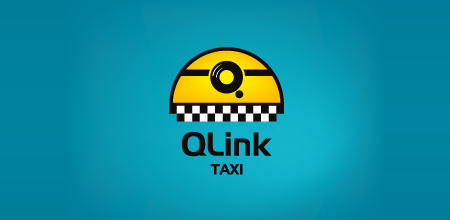 q link taxi yellow logo