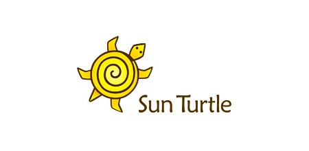 sun turtle yellow logo