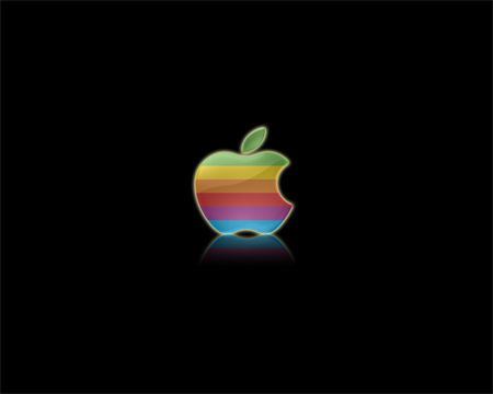 classic apple reinvented wallpaper