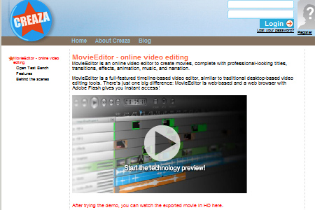 MovieEditor- online video editing