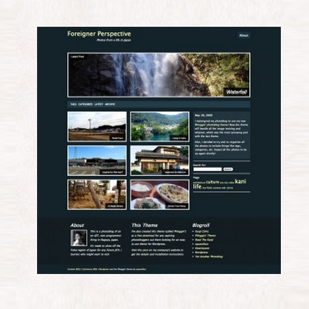 Introducing our new photoblog theme!