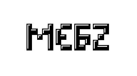 MEGZ pixel font