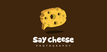 say cheese yellow logo