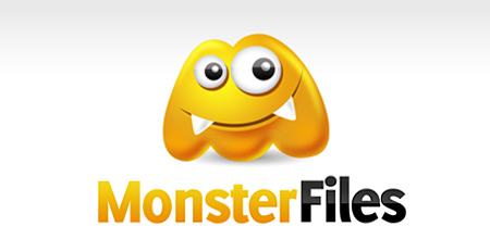 monster flies yellow logo