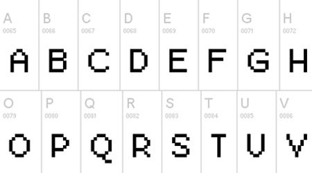 pixel berry 08-84 ltd edition font