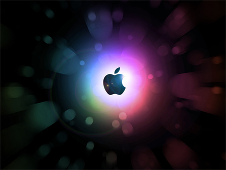 flash forward apple wallpaper