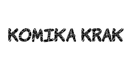 Komika Krak comic font